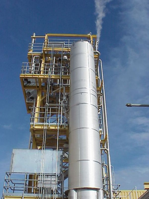 Degasifier Modual and Carbon Filter for Water Treatment Plant