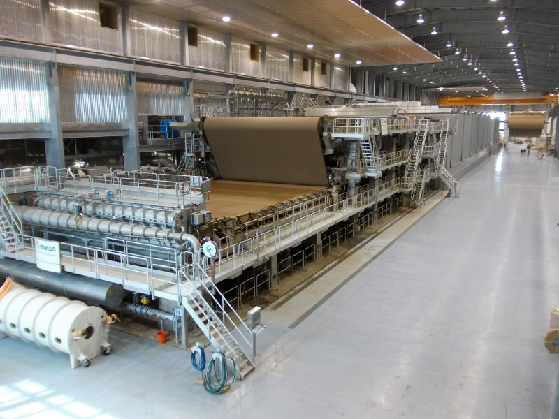 Linerboard Paper Machine Project